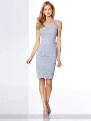 Mon Cheri Formal Blue Dress