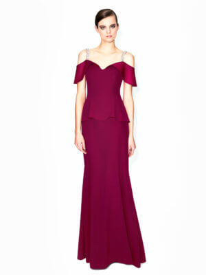 Daymor Couture Red Dress
