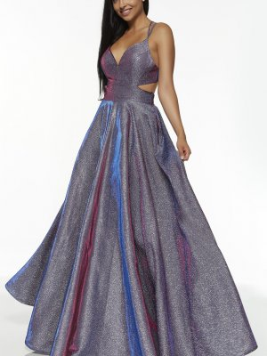 Alyce Prom Style 60567 in Blueberry