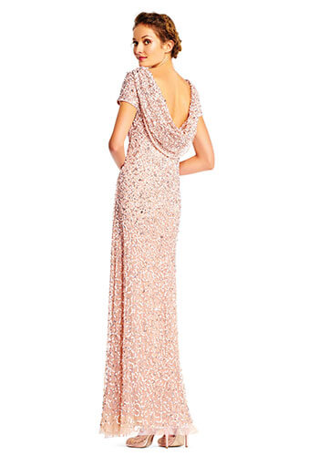 Adrianna Papell sequin Bridesmaid Dress - Style #AP1E202166