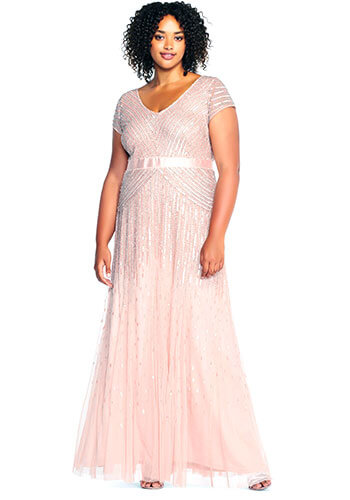 Adrianna Papell Plus Size Bridesmaid Dress - Style #09286895