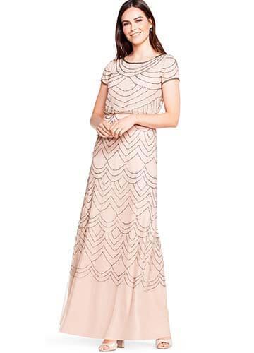 Adrianna Papell Petite Bridesmaid Dress - Style #19191610