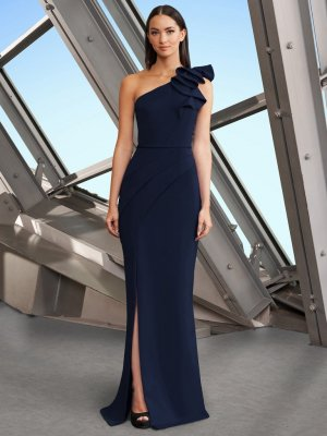Alexander by Daymor Mother of the Bride Dress Style #1174_NAVY