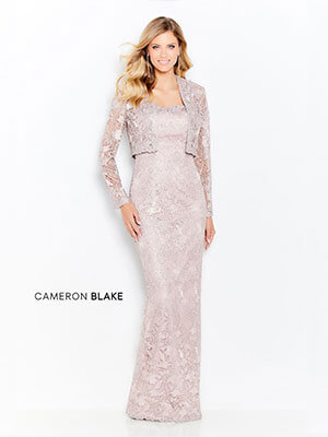 Mother of the Bride gowns by Cameron Blake - Style 120602 in Petal