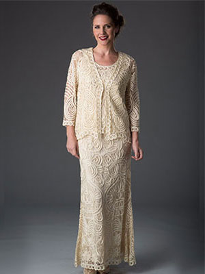 Soulmates Crochet Mother of the Bride Dress and LuxeLace Style #708